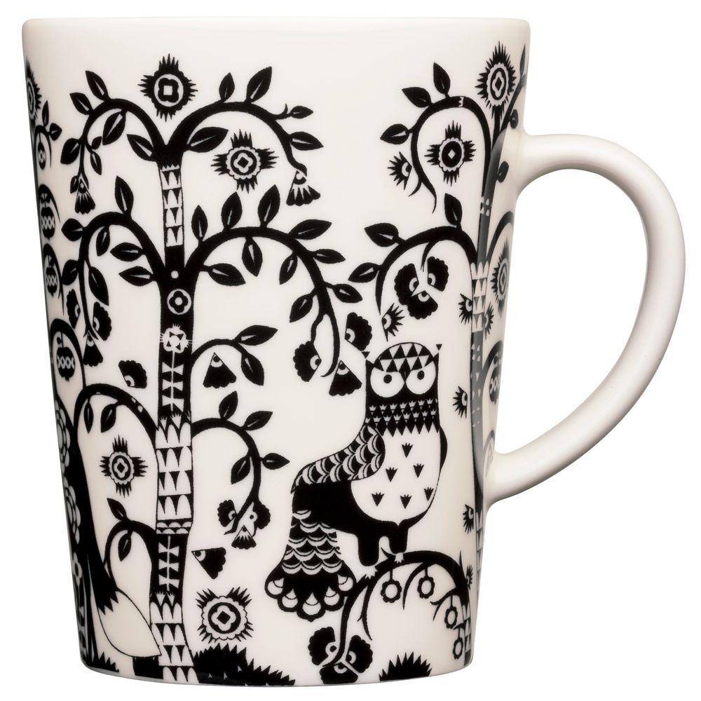 Фото - Чашка чайная Taika, черная чашка чайная taika белая