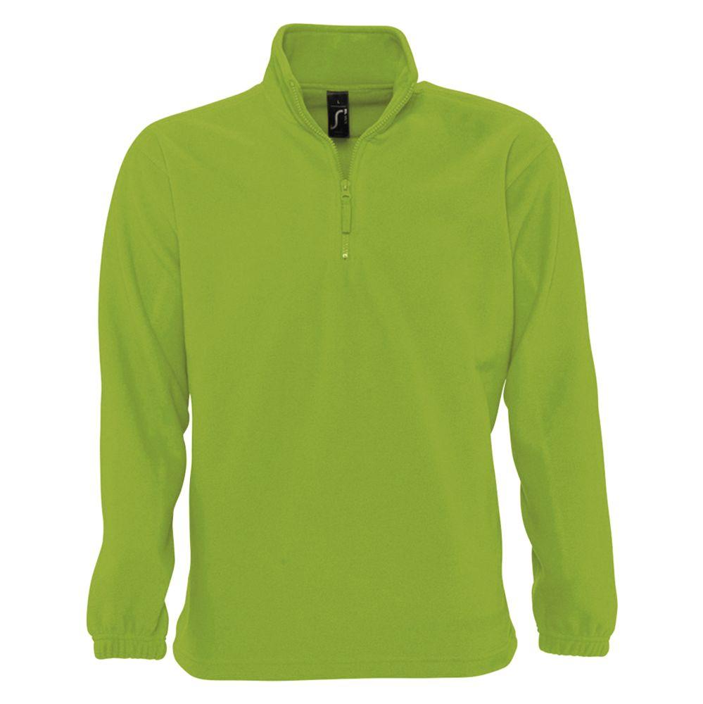 Толстовка из флиса NESS 300, зеленое яблоко, размер S толстовка из флиса ness 300 зеленая размер m