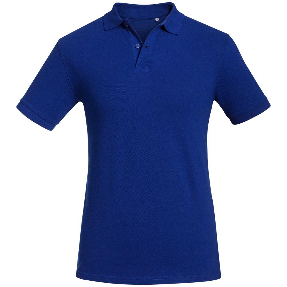 Рубашка поло мужская Inspire синяя, размер L рубашка поло мужская sunset черная размер 4xl