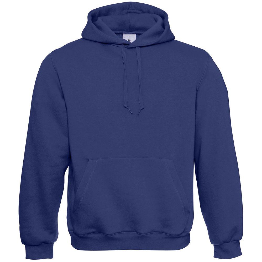 Толстовка Hooded темно-синяя, размер XS