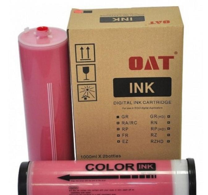 Фото - Краска красная GR/RС/RA, 1000 мл, OAT estel стойкая крем краска для волос de luxe 7 44 русый медный интенсивный 60 мл