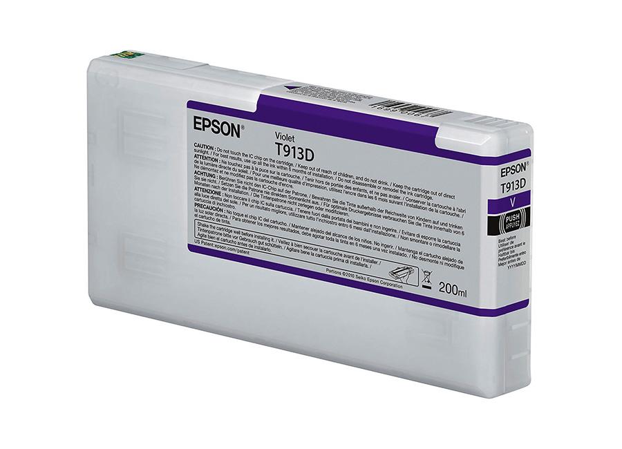 Фото - Epson T913D Violet 200 мл (C13T913D00) средство для чистки и полировки нержавеющей стали magic power 250 мл