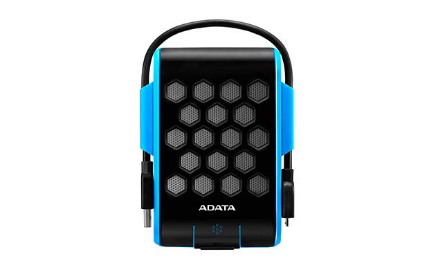 Внешний жесткий диск HD720 2 ТБ (AHD720-2TU3-CBL), прорезиненный, синий внешний жесткий диск a data hd720 1tb синий ahd720 1tu3 cbl