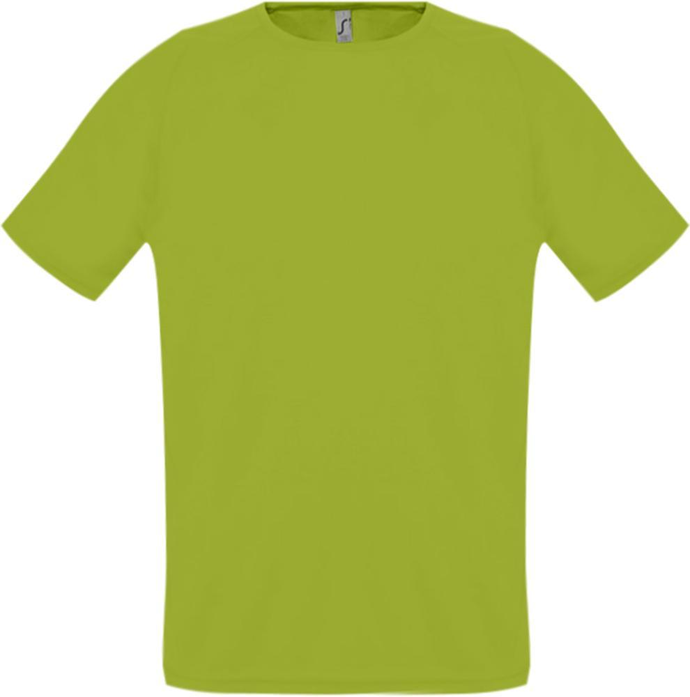 Футболка унисекс SPORTY 140 зеленое яблоко, размер XXS футболка унисекс sporty 140 красная размер xxs