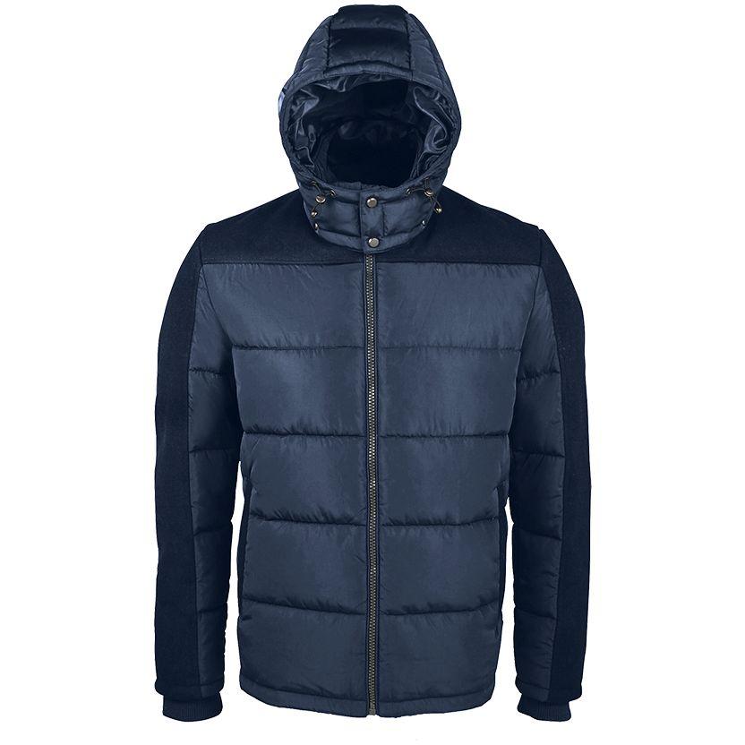 Куртка мужская REGGIE темно-синяя, размер 3XL