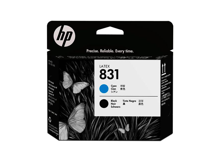 Фото - Печатающая головка Printhead 831 Cyan/Black (CZ677A) печатающая головка printhead 81 black c4950a
