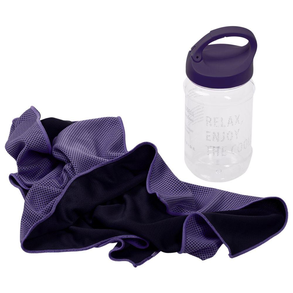 Охлаждающее полотенце Weddell, фиолетовое