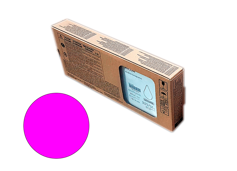 Фото - Картридж повышенной ёмкости Ricoh AR Bulk ink cartridge Magenta 1200 мл (344109) lubby пустышка латексная утенок от 0 месяцев