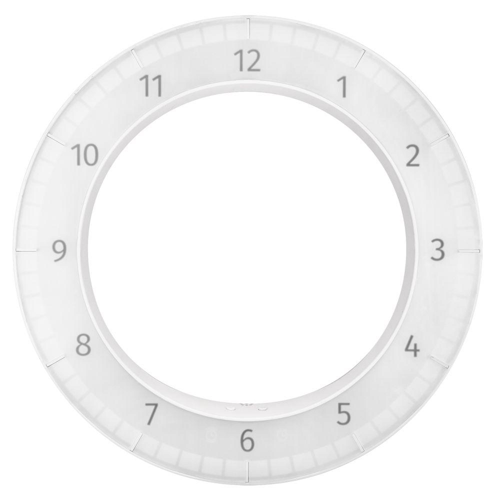 Часы настенные The Only Clock, белые настенные часы kitch clock 4002277