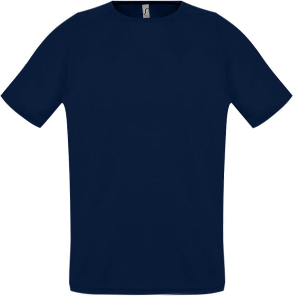 Футболка унисекс SPORTY 140 темно-синяя, размер XXS футболка унисекс sporty 140 красная размер xxs