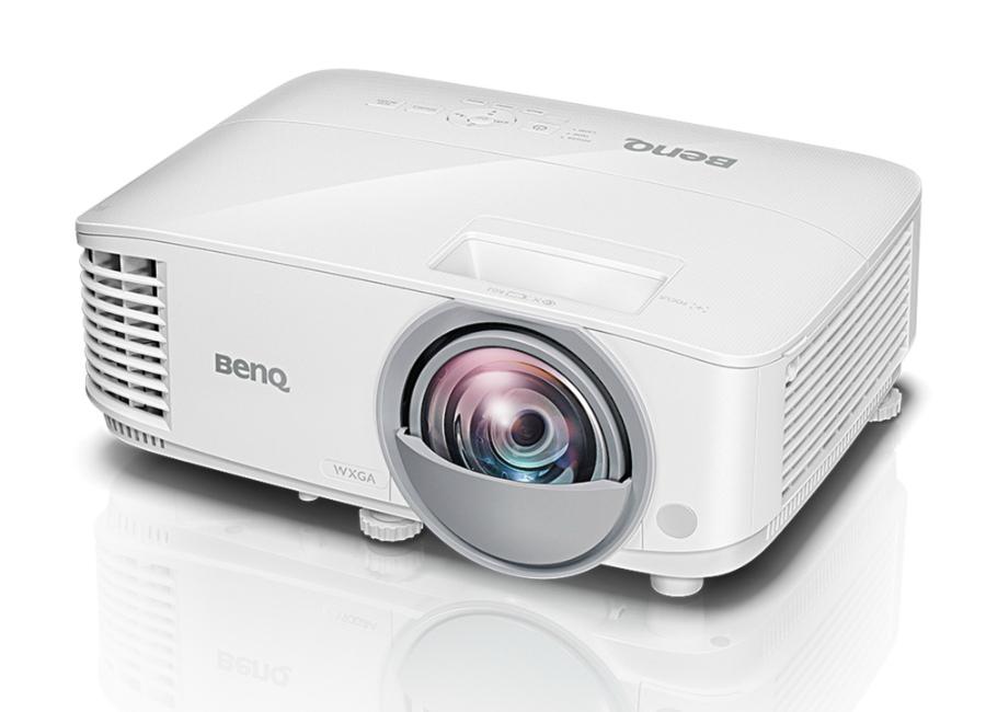 Фото - BENQ MW826ST проектор benq mw707 dlp wxga 1280x800 3500lm 13000 1 2xнdmi mhl lan 1x10w speaker 3d ready lamp 15000hrs whi