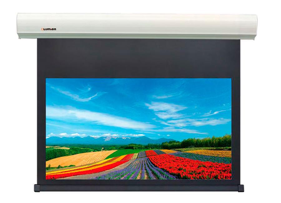 Cinema Control (241x400 см), MW FiberGlass, с электроприводом, белый корпус (LCC-100118) lumien cinema control 185x230 см lcc 100104