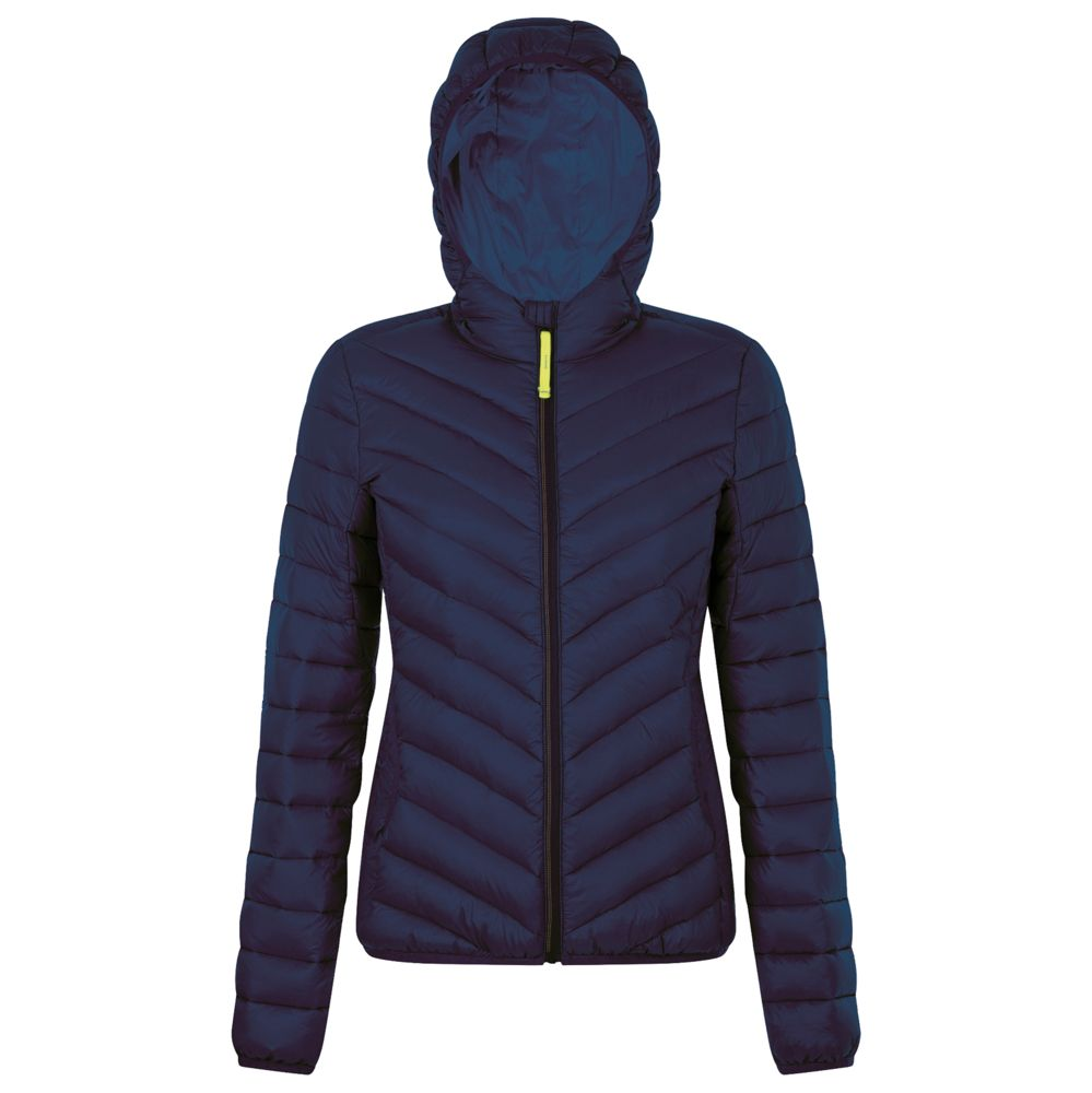 Куртка пуховая женская RAY WOMEN темно-синяя, размер S