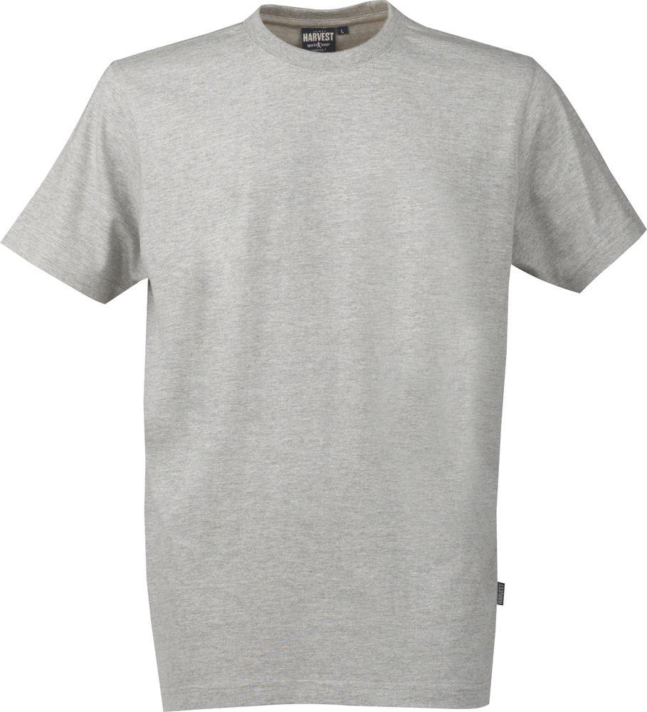 Футболка мужская AMERICAN T, серый меланж, размер XXL