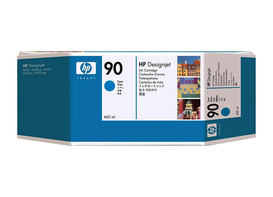 Набор картриджей HP DesignJet 90 Cyan 3x400 мл (C5083A) q1273 69298 q1273 60170 designjet 4000 4020 4500 4520 gamut pci pc board printer plotter parts free shipping