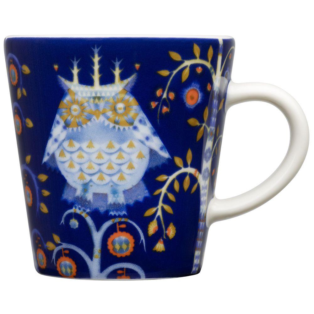Чашка кофейная Taika для эспрессо, синяя чашка кофейная teema белая