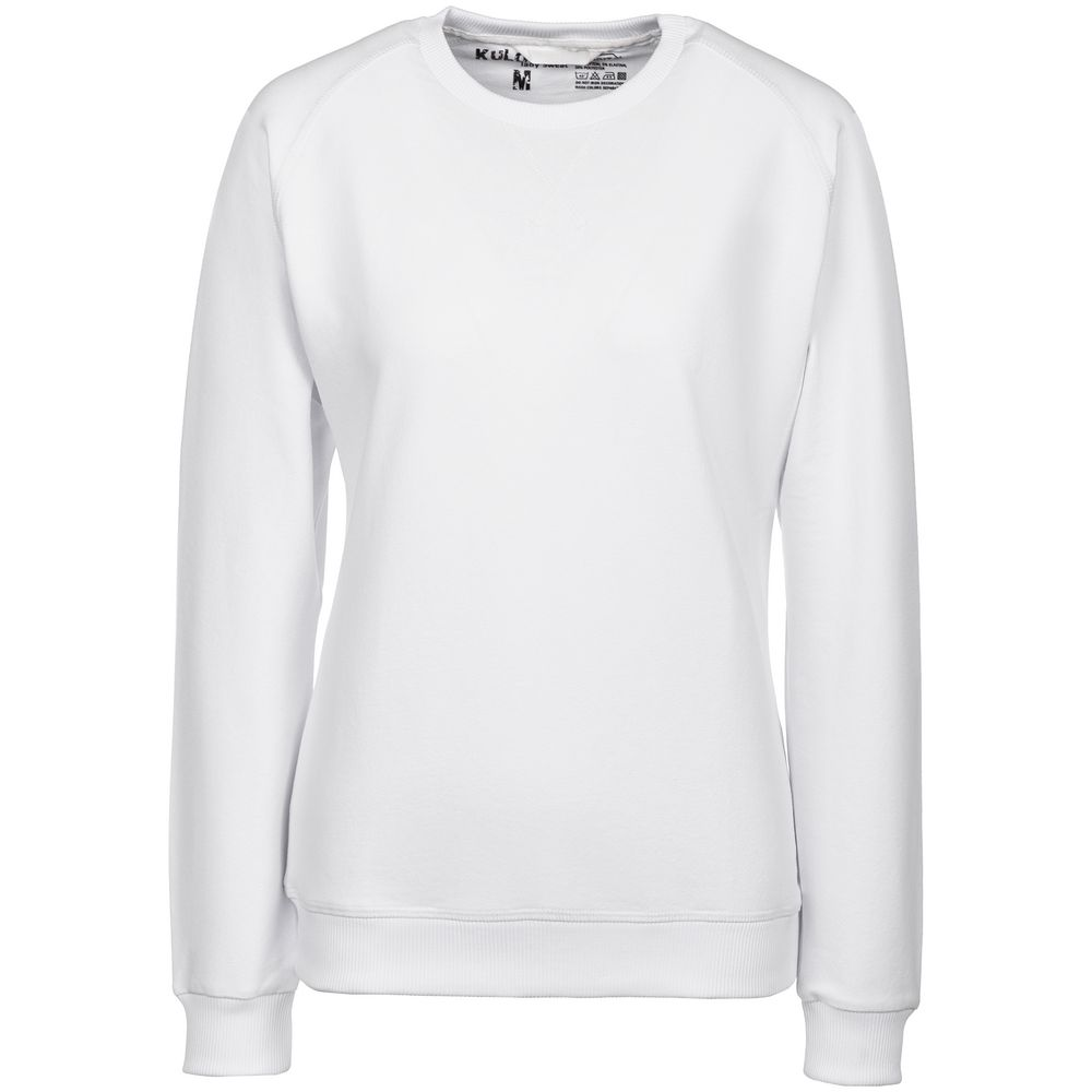 Фото - Свитшот женский Kulonga Sweat белый, размер M джемпер женский zarina цвет белый 8224547442001 размер m 46