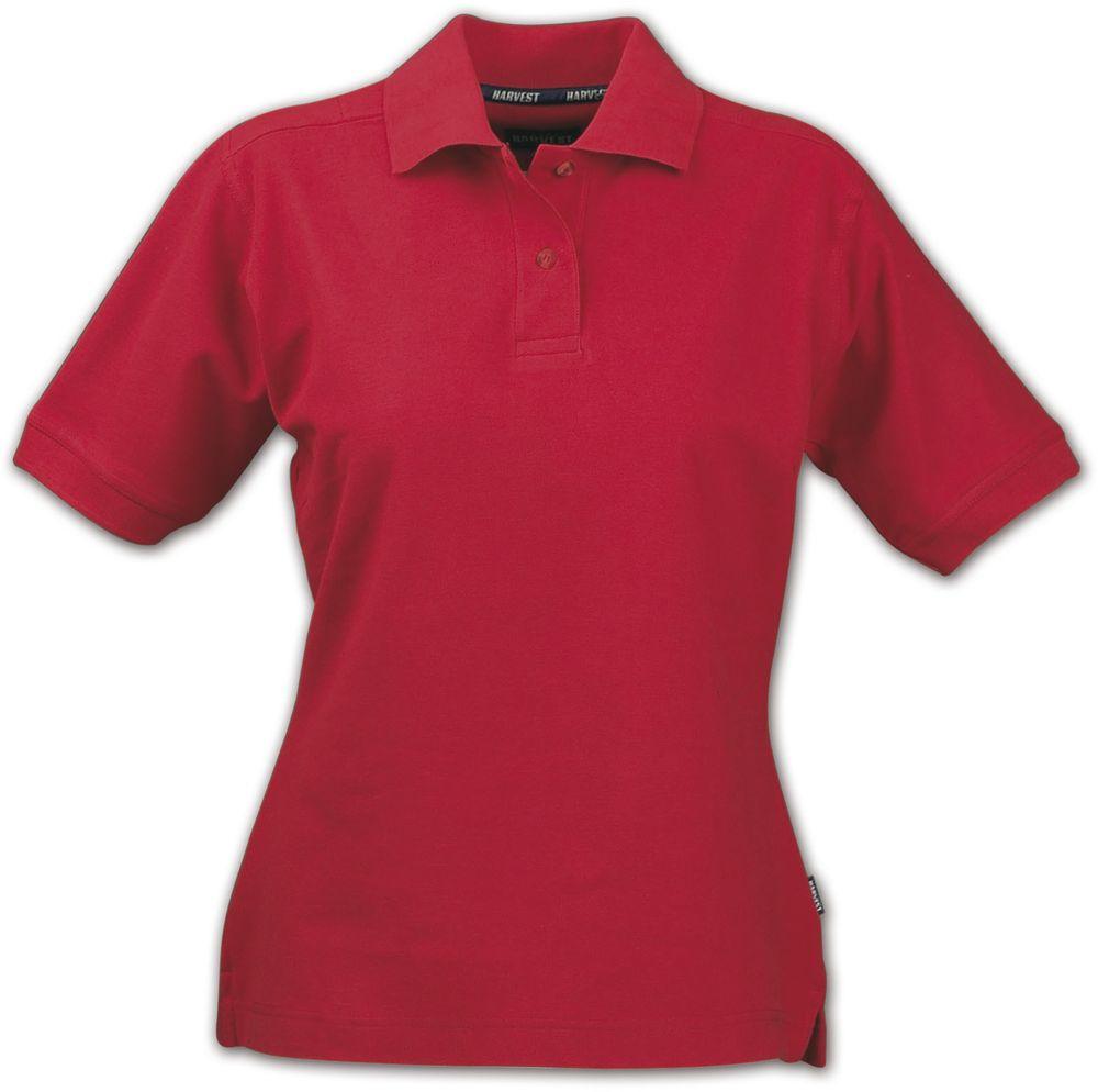 Рубашка поло женская SEMORA, красная, размер S рубашка поло женская semora красная размер xl