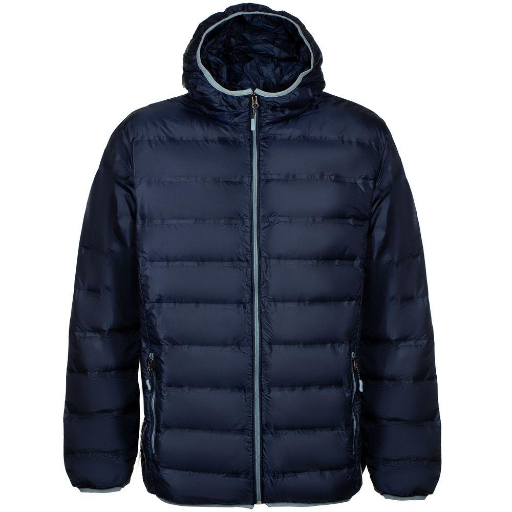 Куртка пуховая мужская Tarner Comfort темно-синяя, размер L фото
