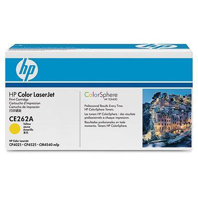 Фото - Тонер-картридж HP CE262A картридж hp ce262a для clj cp4525 желтый 11000стр
