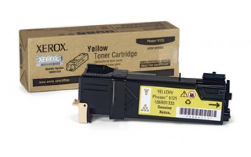 Тонер-картридж 106R01337 xerox yellow 106r01337