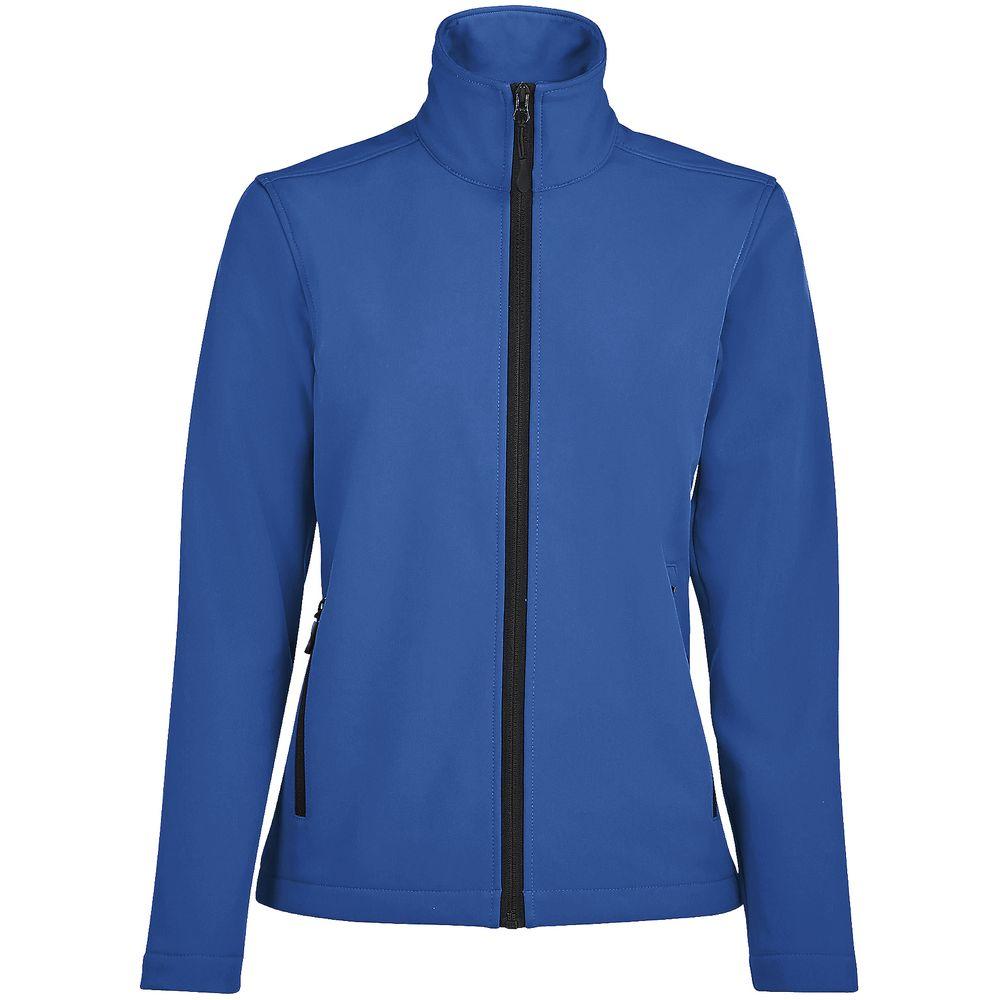 Куртка софтшелл женская RACE WOMEN ярко-синяя (royal), размер S