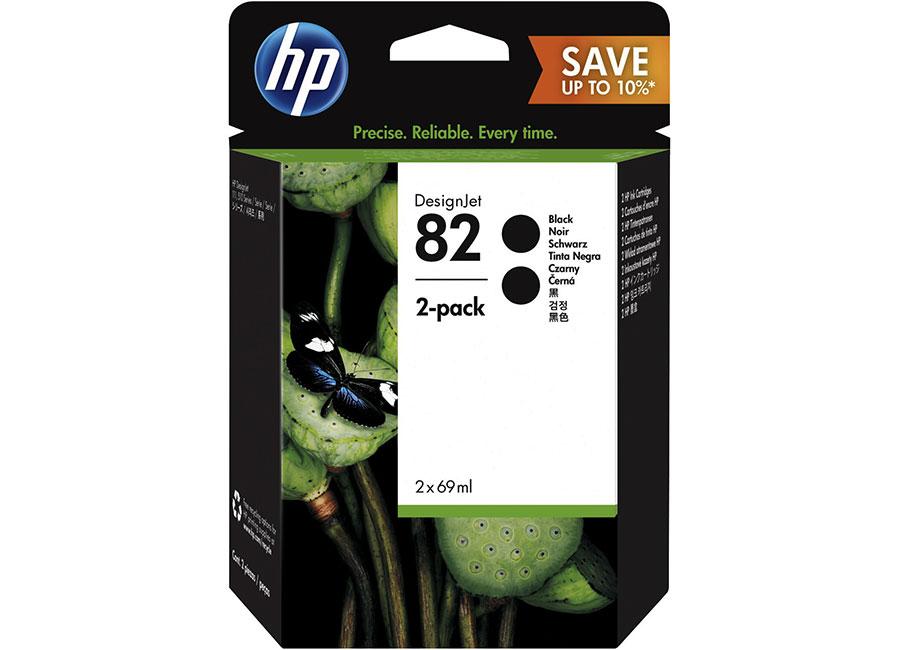 Фото - Набор картриджей HP DesignJet 82 Black 2x69 мл (P2V34A) набор их 2 полукруглых бокалов 320 мл lsa international mixologist g1451 11 187