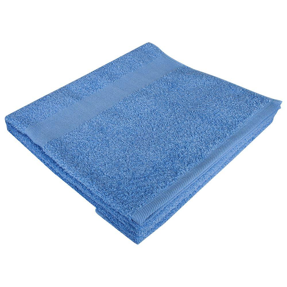 цена Полотенце махровое Soft Me Large, голубое онлайн в 2017 году