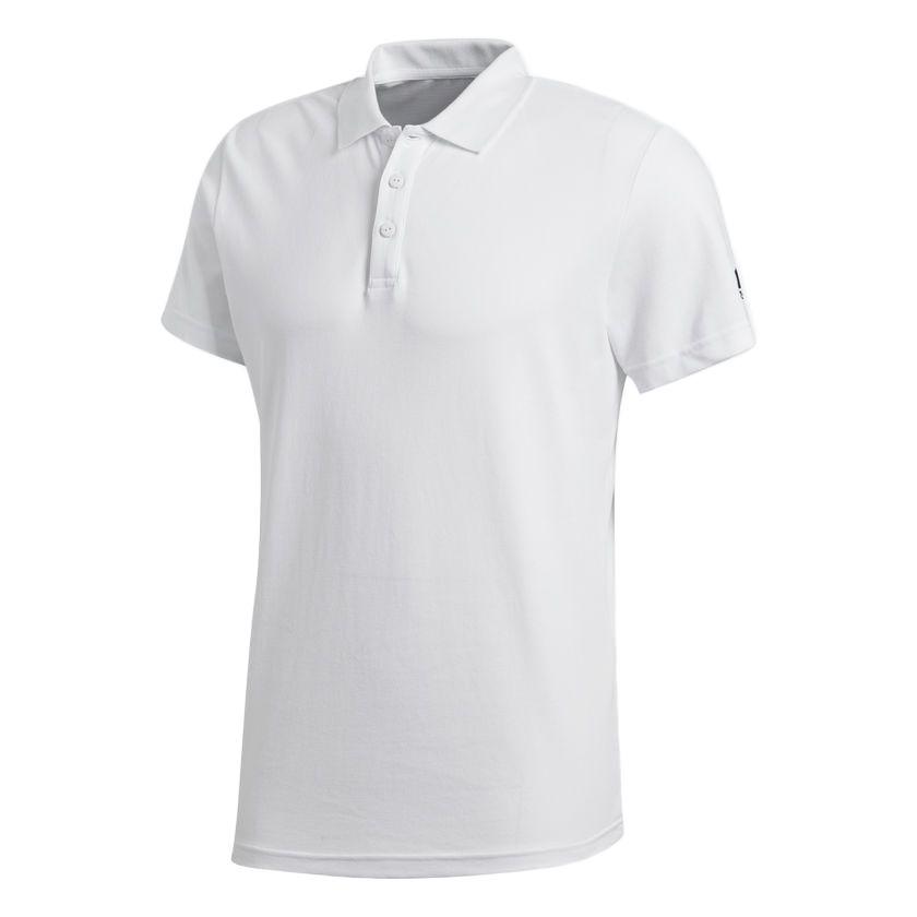 Рубашка поло Essentials Base, белая, размер M фото