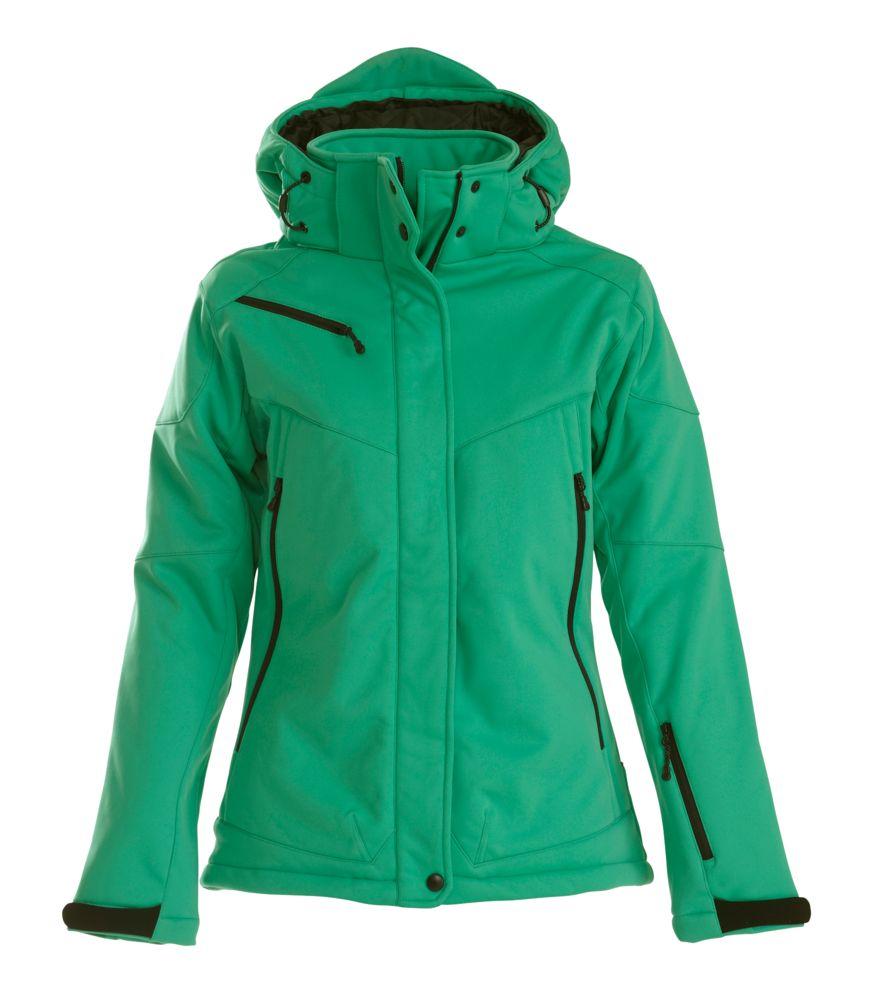 цена на Куртка софтшелл женская Skeleton Lady зеленая, размер M