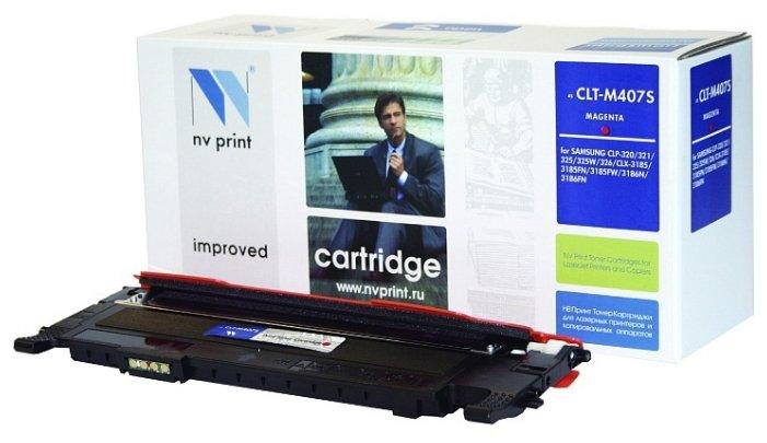 Картридж NV Print CLT-M407S M картридж nv print clt k504s