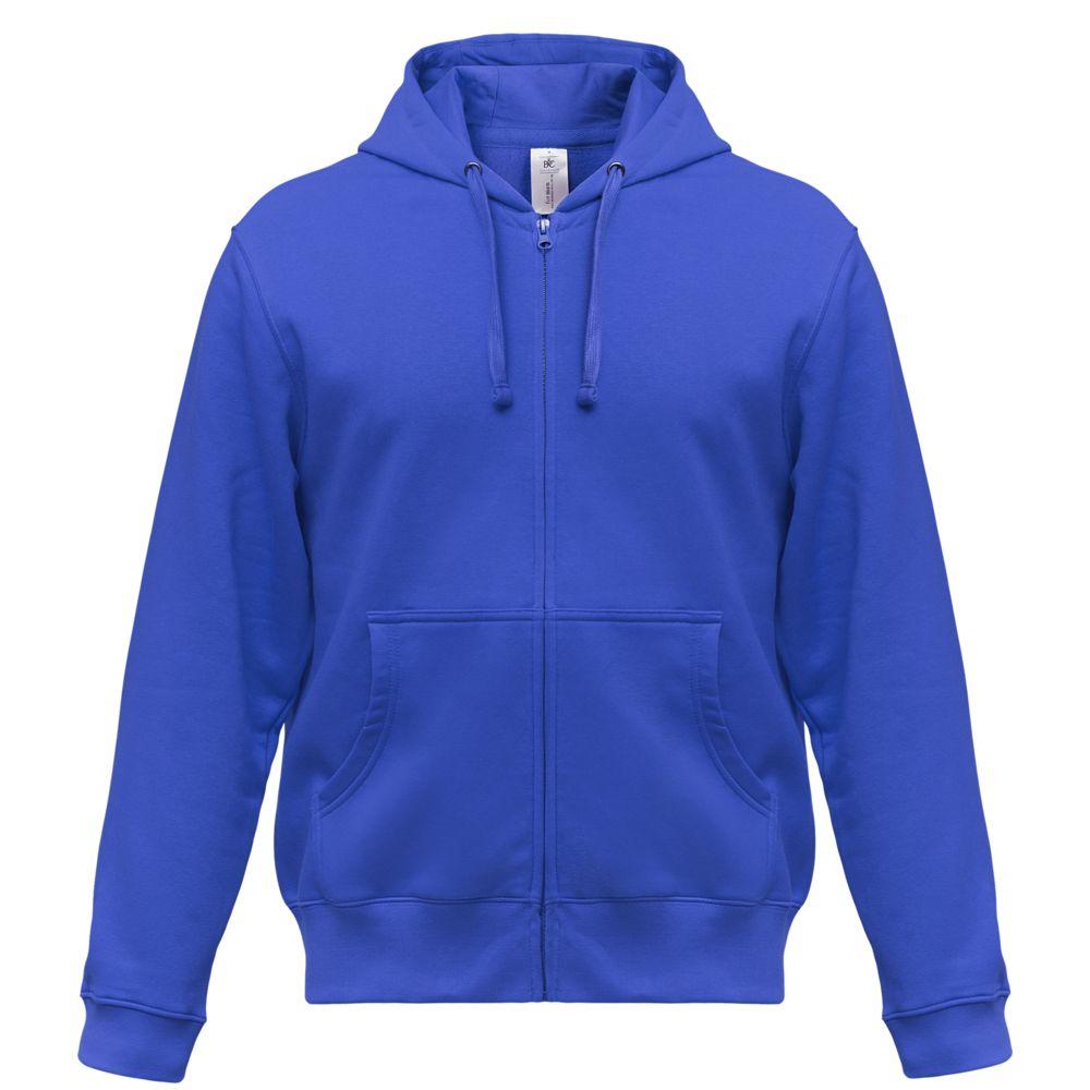 цена Толстовка мужская Hooded Full Zip ярко-синяя, размер XL онлайн в 2017 году