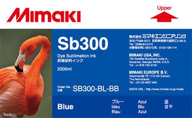 Чернила   SB300 Blue