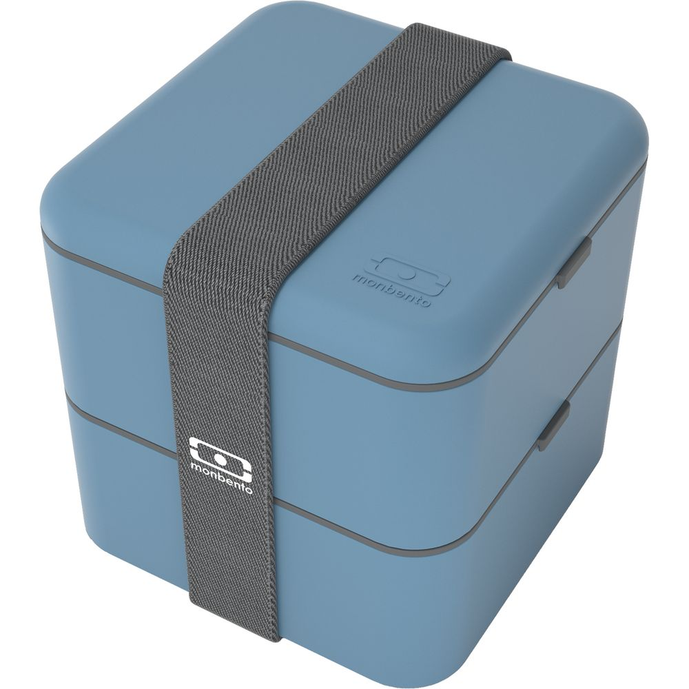 Ланчбокс MB Square, синий (деним) ланчбокс mb original черный