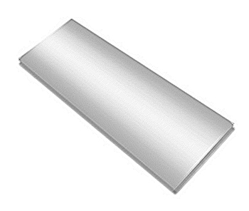 Металлические пластины MasterTon, серебро матовое