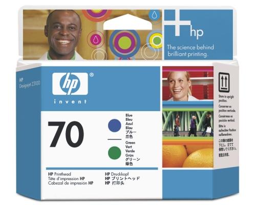 Печатающая головка HP Print Head №70 Blue & Green (Z3100) (C9408A)