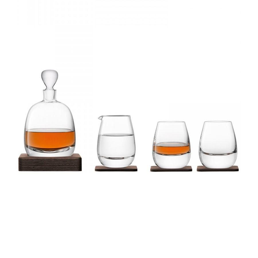Набор для виски Islay Whisky с деревянными подставками набор конфет mieszko whisky ликёрные с виски 180 г