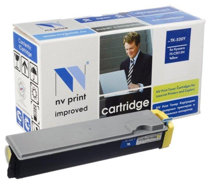 Картридж NV Print TK-520Y фото