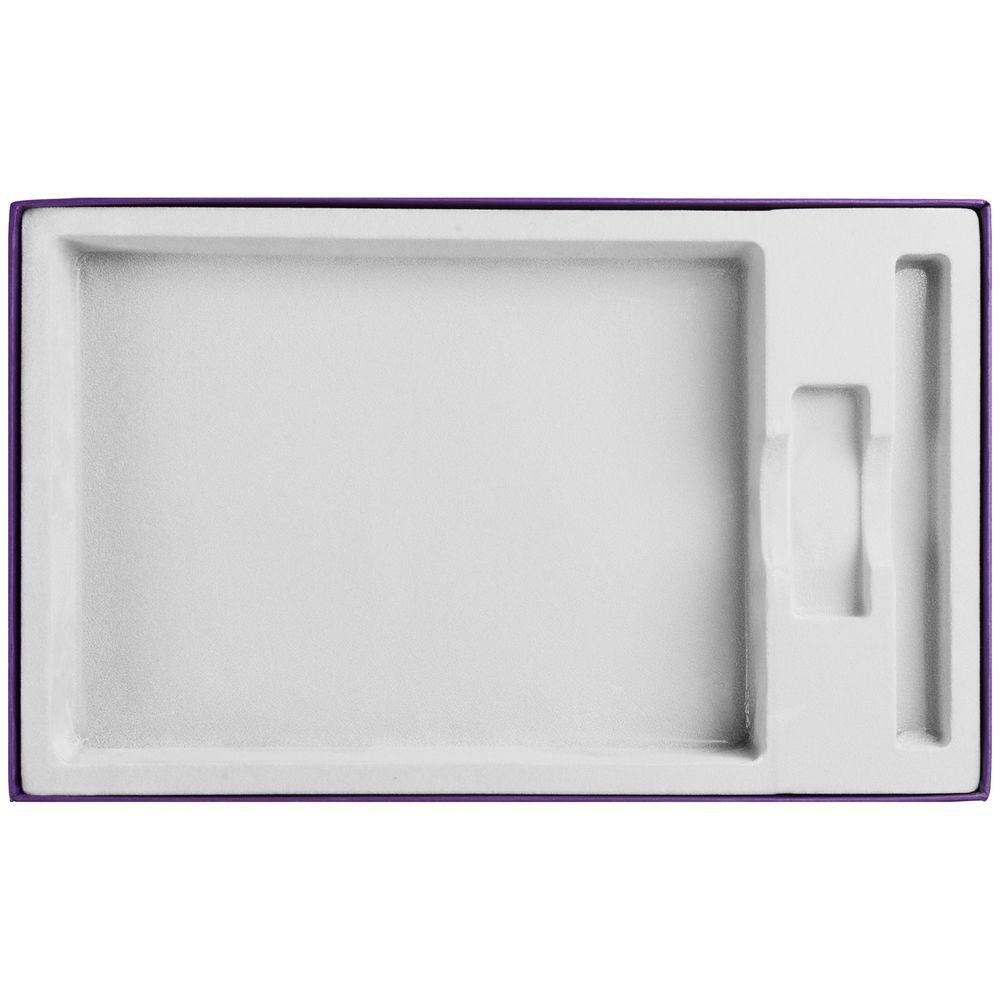 Коробка In Form под ежедневник, флешку, ручку, фиолетовая
