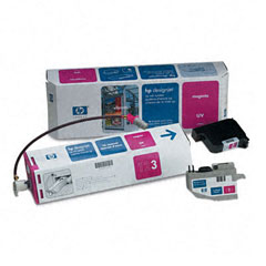 Картридж HP DesignJet CP UV Ink System Magenta (C1894A) good quality 4 with 4 bulk ink supply system ink tank supply system for mimaki roland mutoh eco solvent printer machine