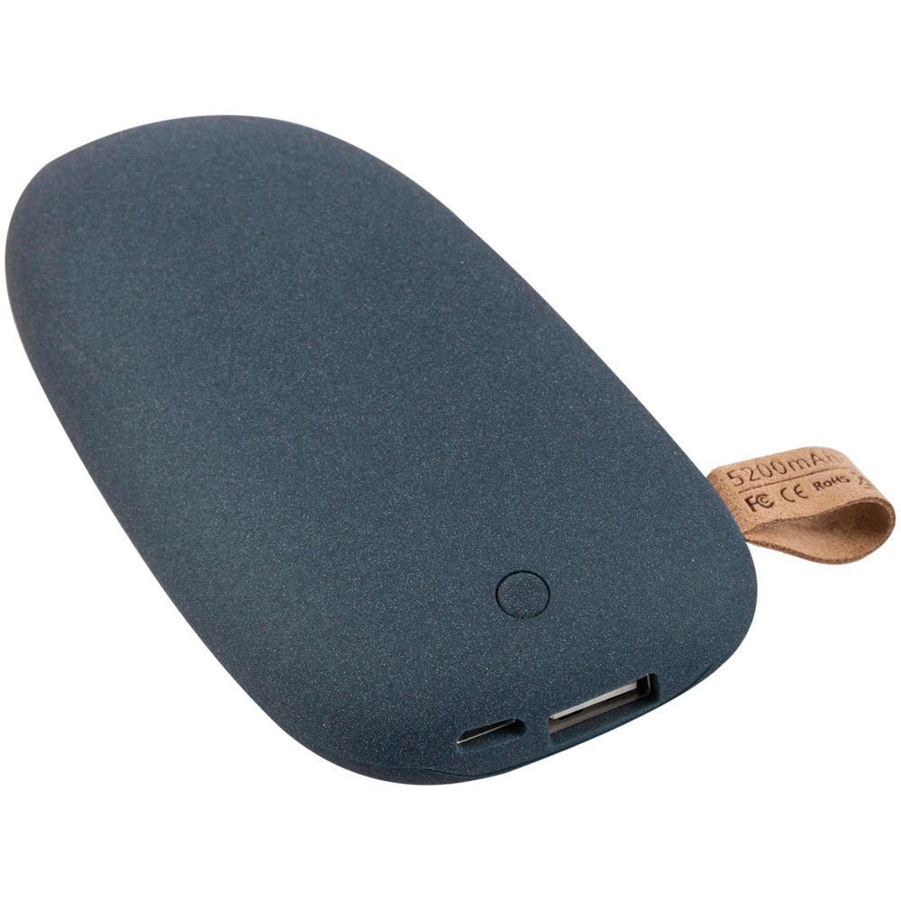 Фото - Внешний аккумулятор Pebble 5200, серо-синий внешний аккумулятор pebble 7800 мач винный