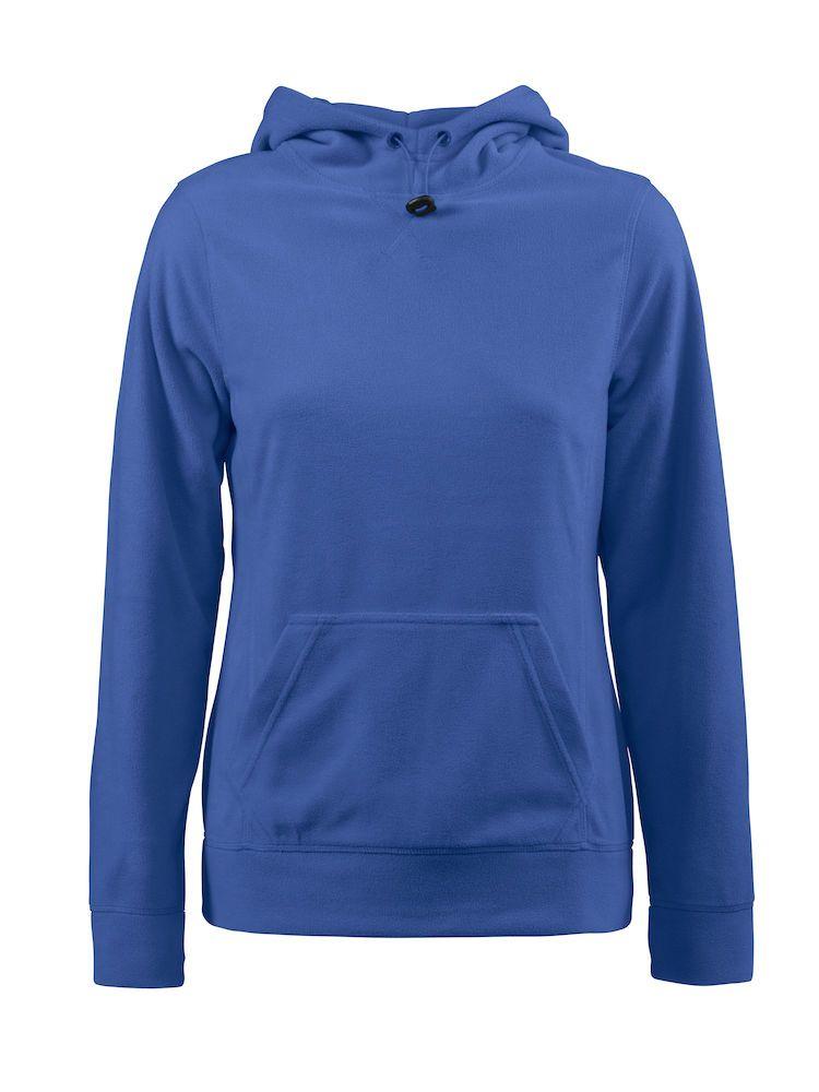 Толстовка флисовая женская Switch синяя, размер S