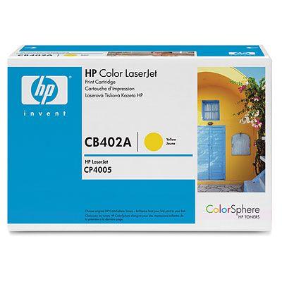 Картридж HP CB402A фото
