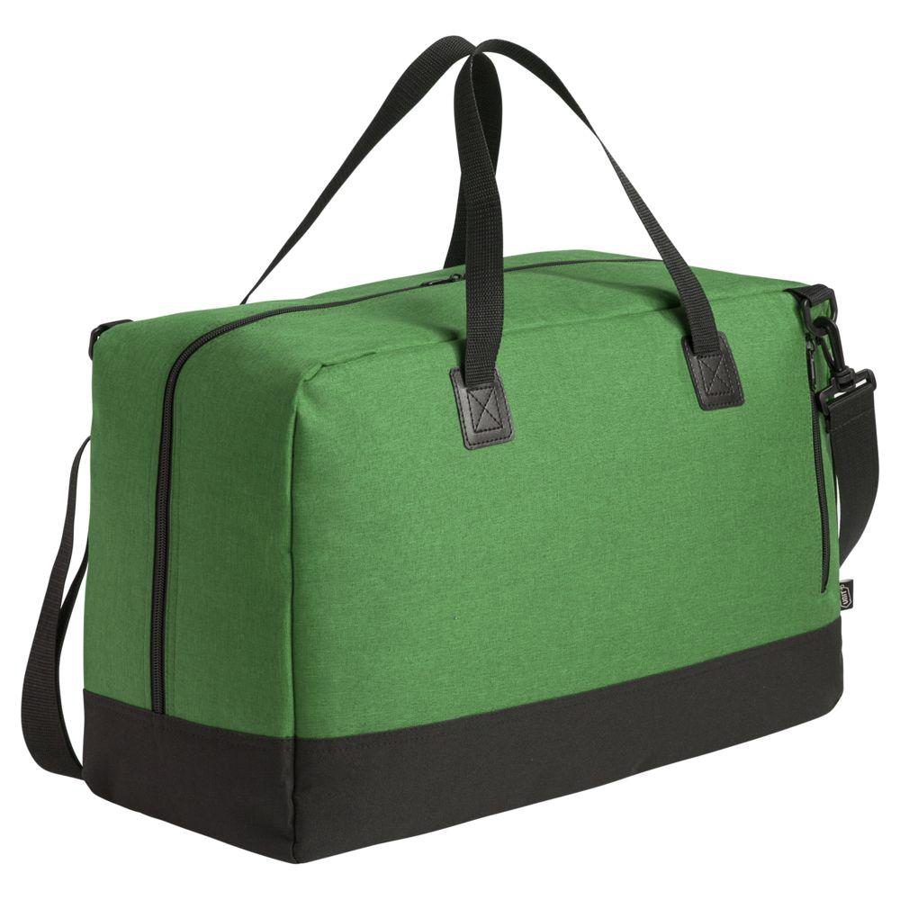 Сумка дорожная с отделением для ноутбука Unit Bimo Weekend, зеленая сумка для ноутбука unit bimo work зеленая