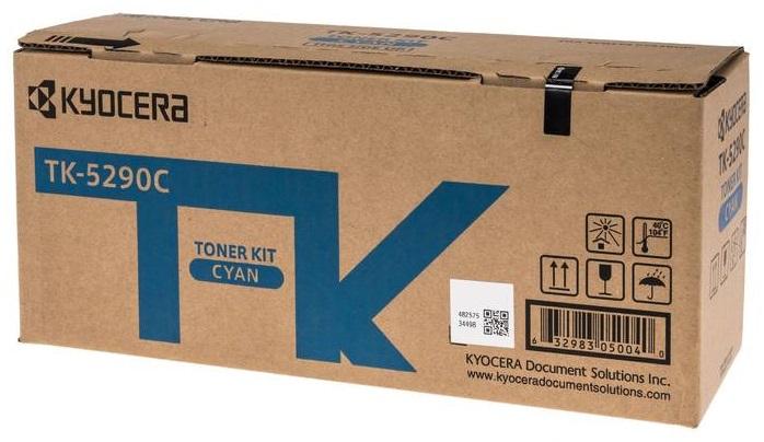 Тонер-картридж Kyocera TK-5290C тонер картридж kyocera tk 540c