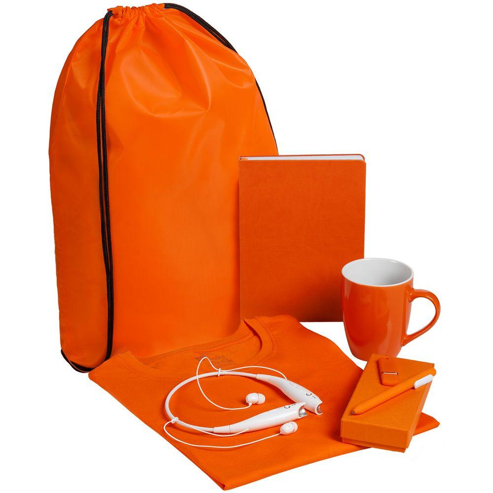 Набор Welcome Kit, оранжевый, размер 3XL