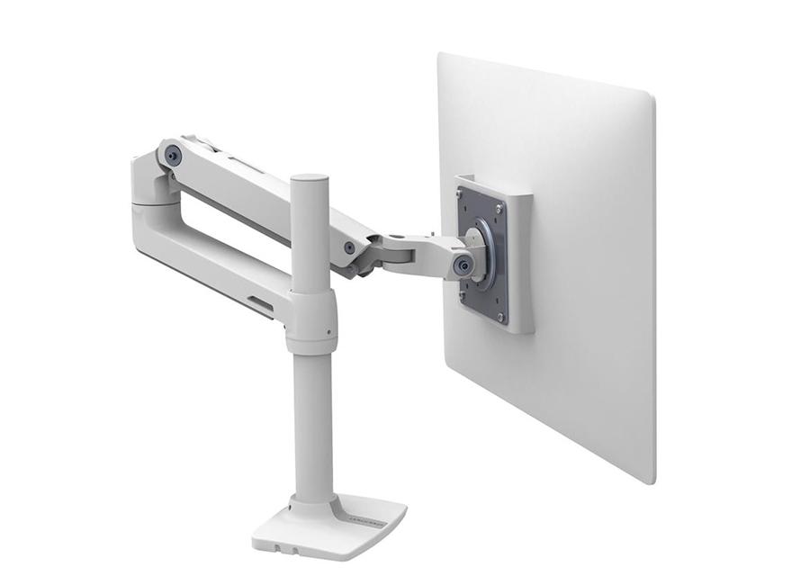 Купить Крепление, Ergotron LX Рука (45-537-216) для монитора, белое
