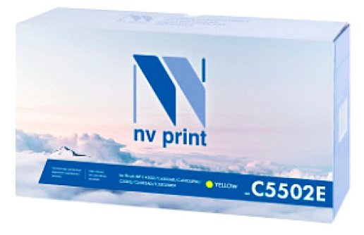 Картридж NV Print MP C5502E Yellow