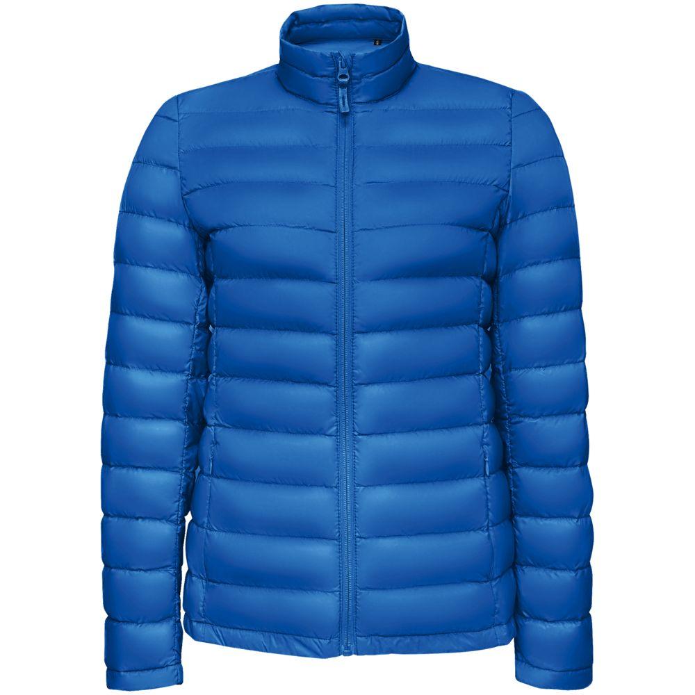 Куртка женская WILSON WOMEN ярко-синяя, размер M куртка женская wilson women серая размер m