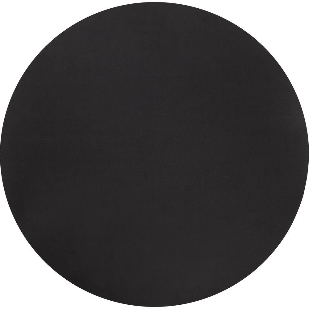 Сервировочная салфетка Satiness, круглая, черная салфетка сервировочная мультидом новогоднее настроение 39 25 см